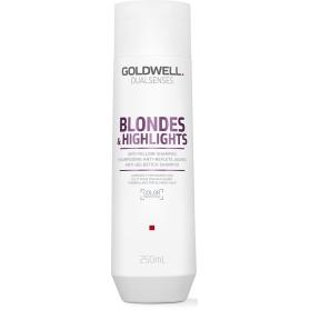 Goldwell Dualsenses Blondes & Highlights Fade Stop Shampoo 250ml