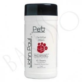 John Paul Pet Pet Eye & Ear Wipes 45st