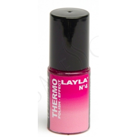 Nagellack Layla Thermo Colour 04 -DARK TO LIGHT PINK