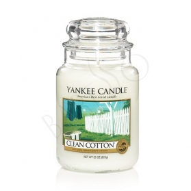Yankee Candle Clean Cotton LARGE