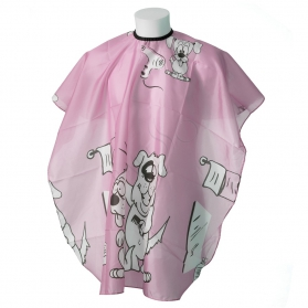 """Child cape """"doggy pink"""""""