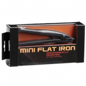 Mini flat iron Black