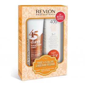Revlon Color Dream 45 Days Intense Coppers + Nutri Color Creme 400