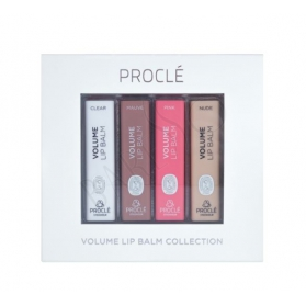 Proclé Volume Lip Balm Collection 4-Pack