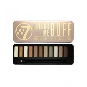 W7 - Colour Me Buff Eye Palette - 12 Shades