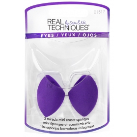 Real Techniques Miracle Mini Eraser Sponge 2-pack