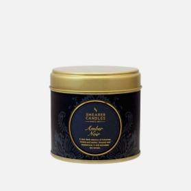 Shearer Candle In Tin Amber Noir 40h