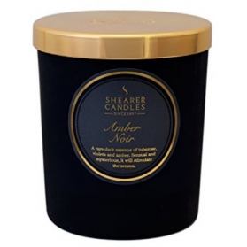 Shearer Candle In Jar Amber Noir 35h
