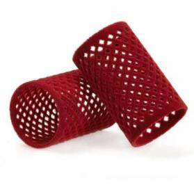 Flock curler red 40 mm