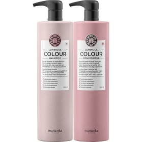 Maria Nila Luminous Color Shampoo + Conditioner 1000ml