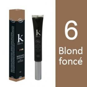 K Pour Karité Organic Hair Mascara - 6 Dark Blond
