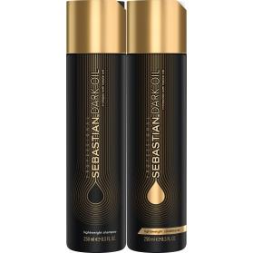 Sebastian Professional Dark Oil Lightweight Hair Duo 250ml