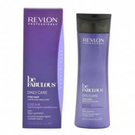 Revlon Be Fabulous Fine Hair Cream Light Shampoo 250ml