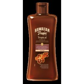 Hawaiian Tropical Tanning Oil Dark 200ml